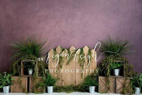 Kate Summer Green Plants  Backdrop Designed By Megan Leigh Photography