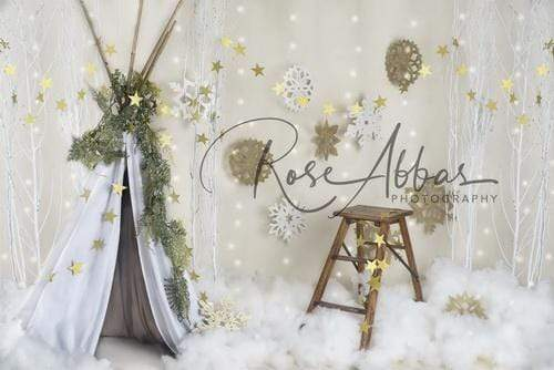 Katebackdrop£ºKate Children Christmas Tent Backdrop Designed By Rose Abbas