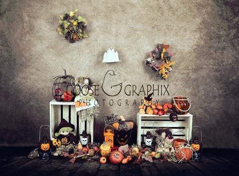 Kate Rustic Spooky Halloween Backdrop Designed By Amanda Moffatt