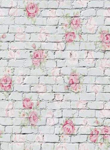 Load image into Gallery viewer, Katebackdrop£ºKate Valentine Flower Brick Backdrop for Photography