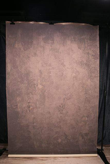 Katebackdrop:Kate Abstract Texture Brown Mid Color Spray Painted Backdrops