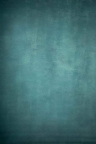Kate Abstract Texture Turquoise Hand Painted Backdrop