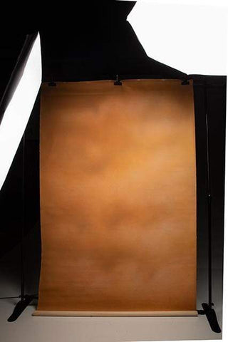 Kate Abstract Brown Tan Rust Texture Spray Painted Backdrop for Photography