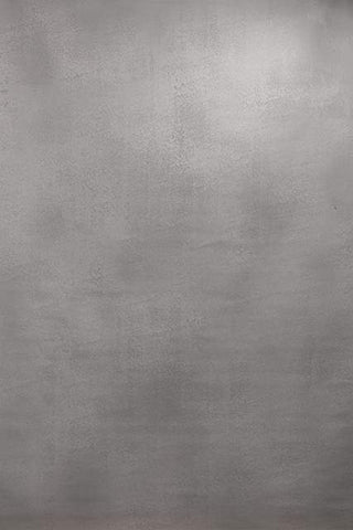 Kate Light White Grey Texture Spray Painted Backdrop Hand Painted Canvas