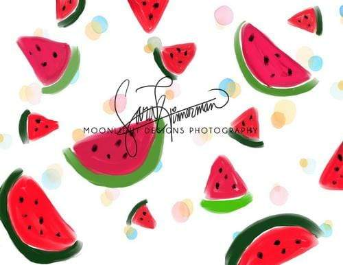 Katebackdrop:Kate Summer Watermelon Party for Children Backdrop Designed by Sarah Timmerman