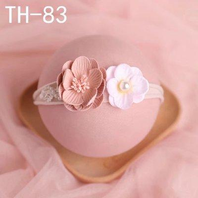 Katebackdrop:The newborn baby hair headdress with clothing photography studio full moon photography 100 days to flower