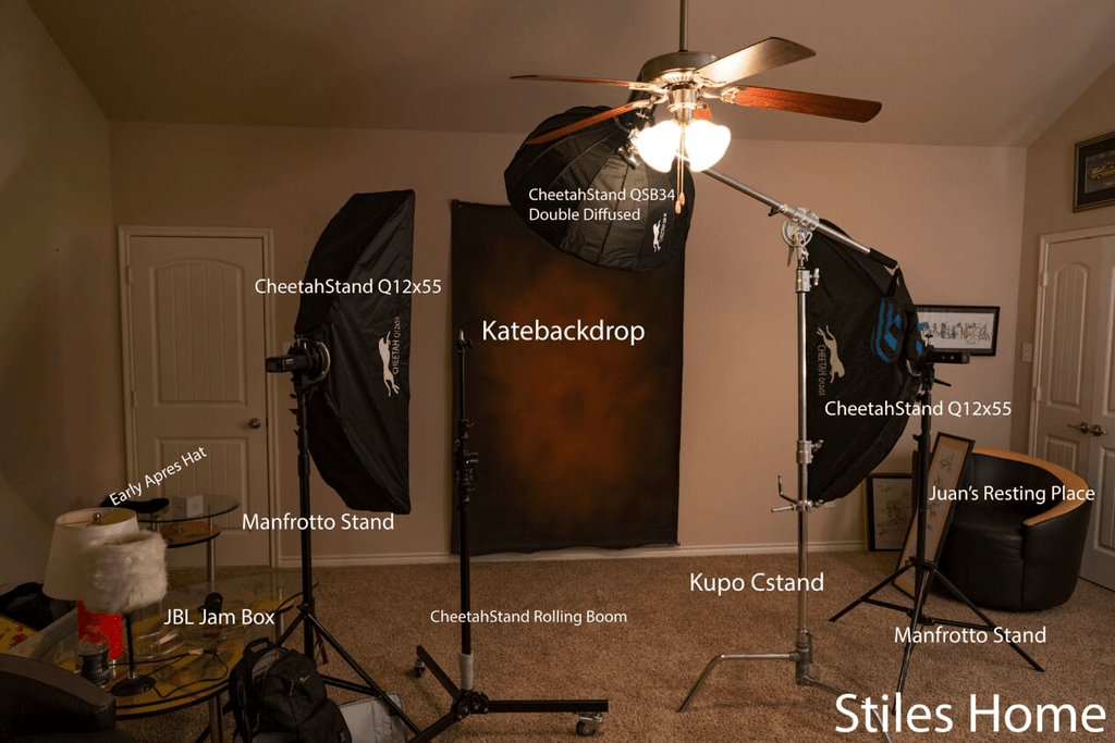 Katebackdrop£ºKate Hand Painted Dark Brown Abstract Texture Spray Painted Backdrops
