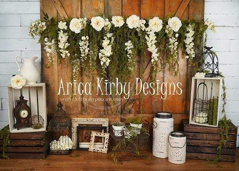 Kate Vintage Memories backdrop designed by Arica Kirby