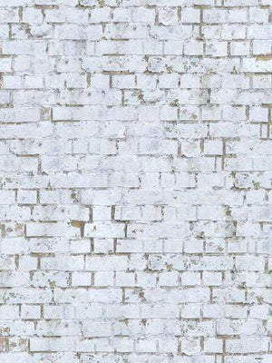 Kate Retro Style White Brick Wall Photography Backdrop