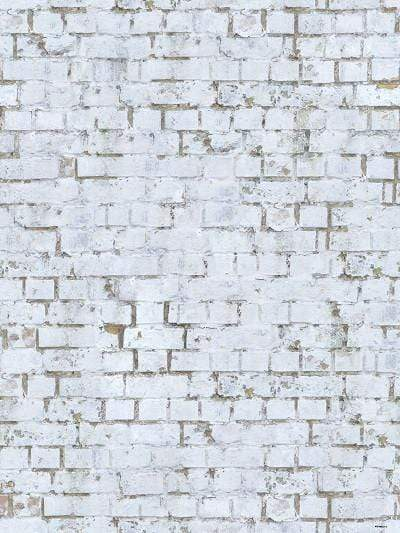Katebackdrop:Kate Retro Style White Brick Wall Photography Backdrop