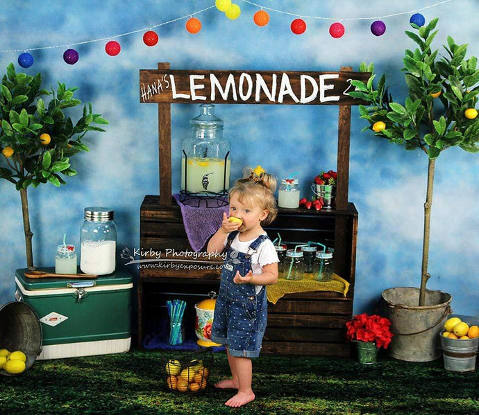 Katebackdrop£ºKate When Life Gives You Lemons Summer Backdrop designed by Arica Kirby