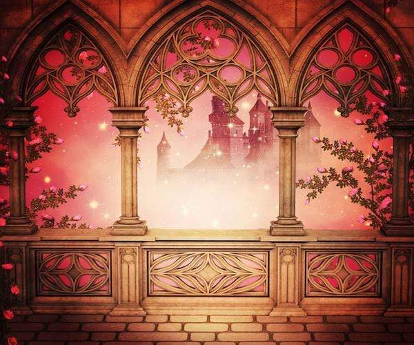 Load image into Gallery viewer, Katebackdrop:Kate Disney backdrop Architecture Retro Background