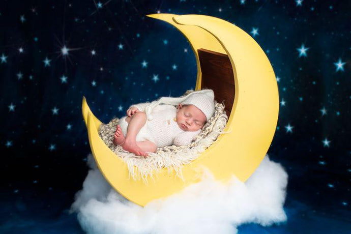Katebackdrop:Kate Children Night Blue Sky Light Stars Backdrop