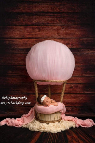 Kate Dark Wood Backdrop for Newborn/Children photos