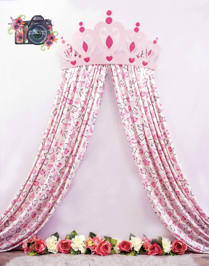 Katebackdrop£ºKate Princess Pink Rose for Children Backdrop Designed by Leann West