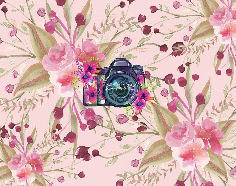 Katebackdrop:Kate Redberry Flower Backdrop for Photography Designed By Leann West