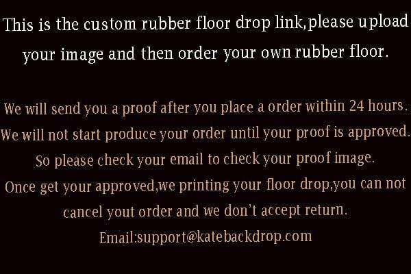 Katebackdrop¡êoKate Custom Rubber Floor Mat Floor drop for Photography