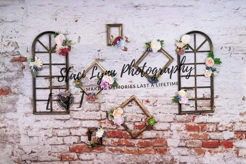 Kate Floral Frames Backdrop Designed By Stacilynnphotography