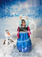 Kate Winter Snow Disney Frozen Backdrop Snow Christmas Backdrop