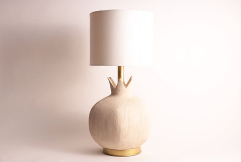 Pomegranate Lamp–Almond