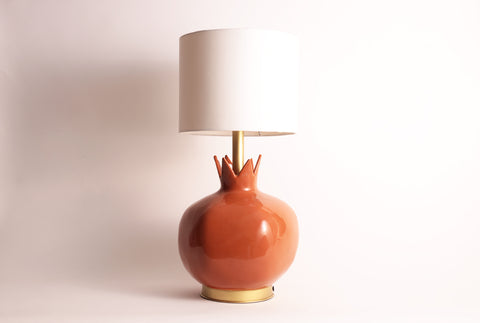 Pomegranate Lamp–Terracotta