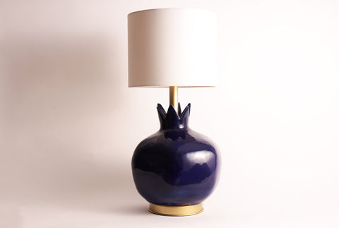 Pomegranate Lamp–Azure