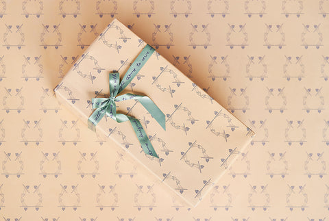 Wrapping Paper–To Serve with Love