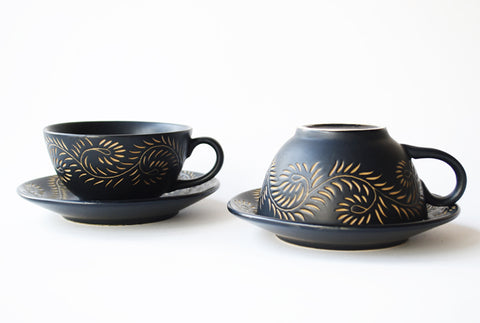 Marrakesh Trapeze Teacup–Set of 2