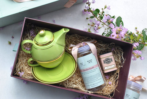 Amazon Biscotti & Tea Gift Box