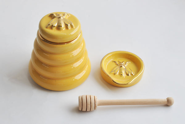 Bee Honey Jar Set - Limited Edition
