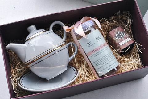 Lady Earl Grey's Biscotti & Tea Gift Box