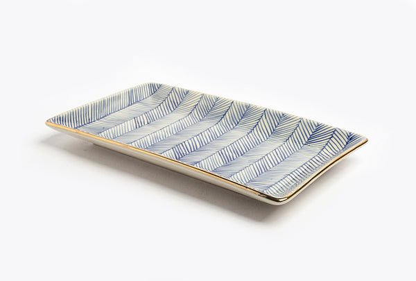 Chevron Club Classic Suite Platter – Blue