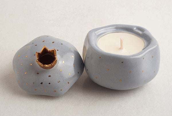 Pomegranate Powder Blue – Cool Fresh Candle