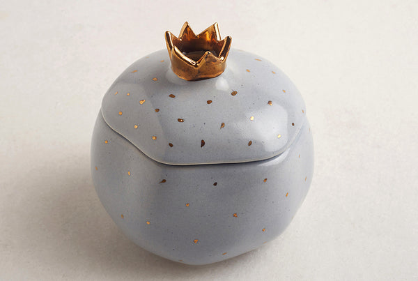 Pomegranate Powder Blue Gift Jar – Chocolate