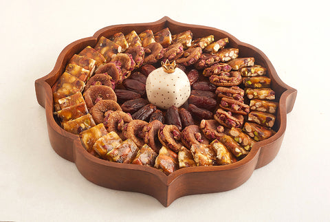 Mehrab Gift Tray - Walnut