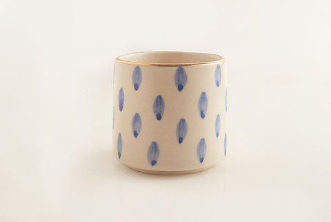 Oval Dotted Tumbler