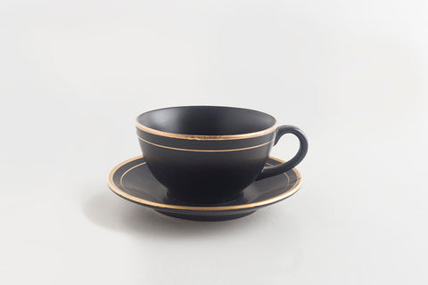 Tea Cup & Saucer - Joe Black