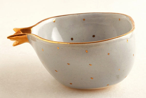 Pomegranate Powder Blue – Bowl
