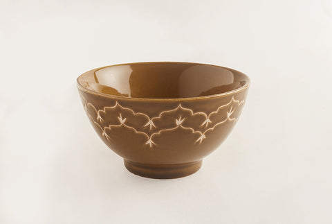 Temple Macha Bowl- Copper Green