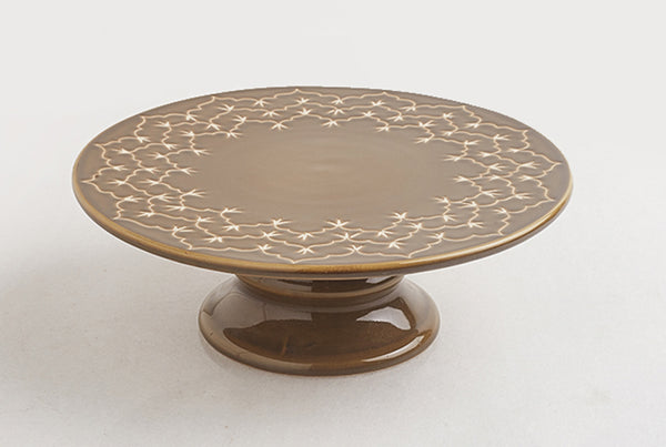 Temple Cake Stand – Sand Dune