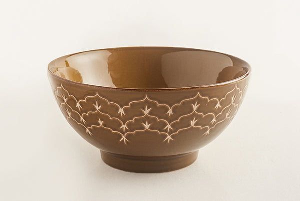 Temple Large Bowl – Sand Dune