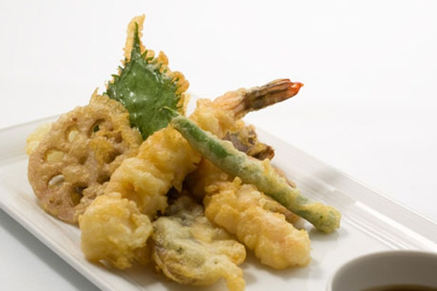 Shrimp and Mixed Vegetable Tempura