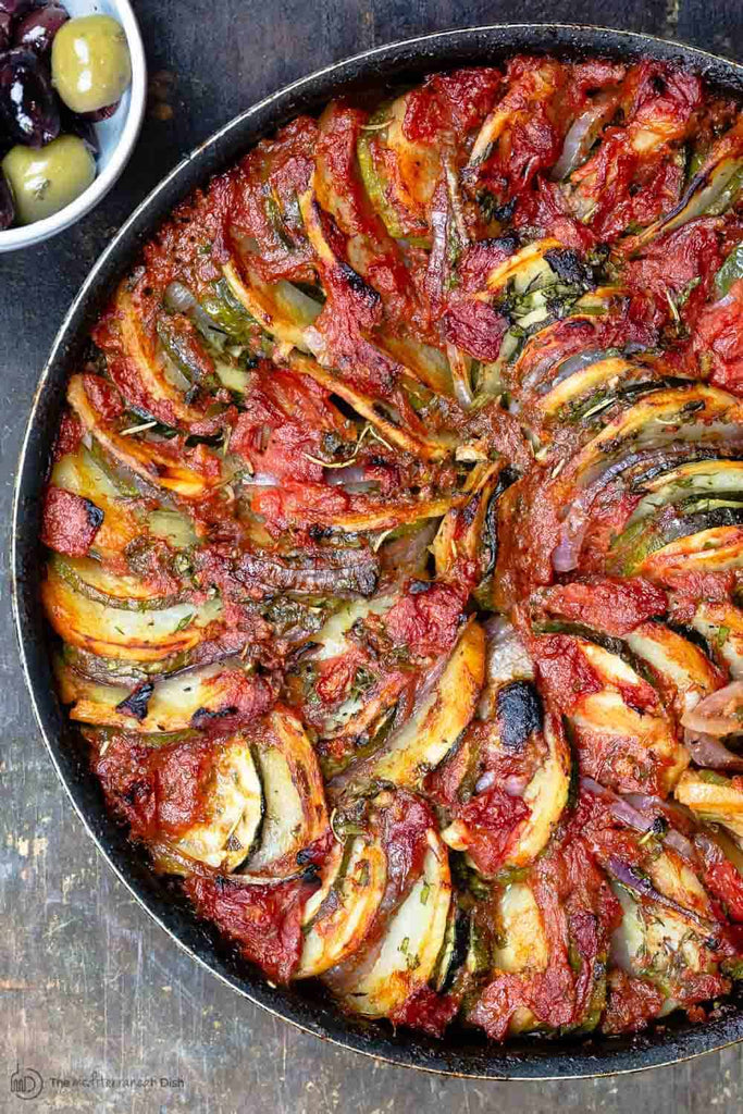 Briam (Traditional Greek Roasted Vegetables)