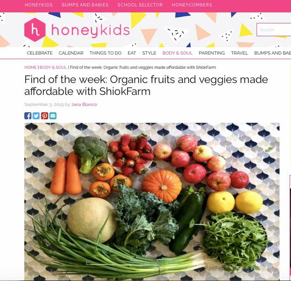 Find of the week: Organic fruits and veggies made affordable with ShiokFarm