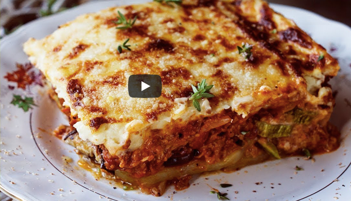 Authentic Greek Moussaka