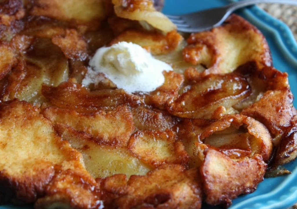 Apple Crepe Pancake