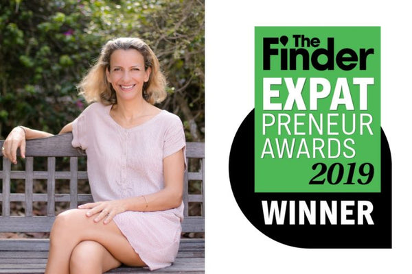 Claire Chabrieres wins the Expatpreneur Awards 2019