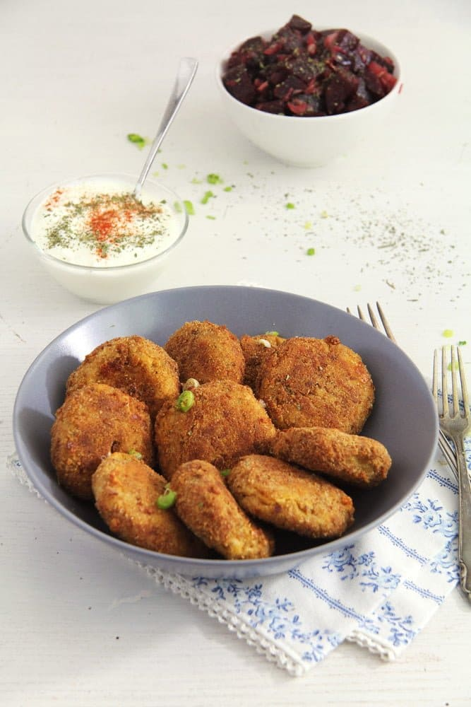 Cauliflower and Potato Patties