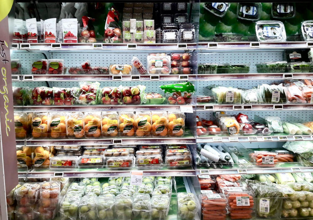 Comparing organic prices, a shopper's experience in Singapore