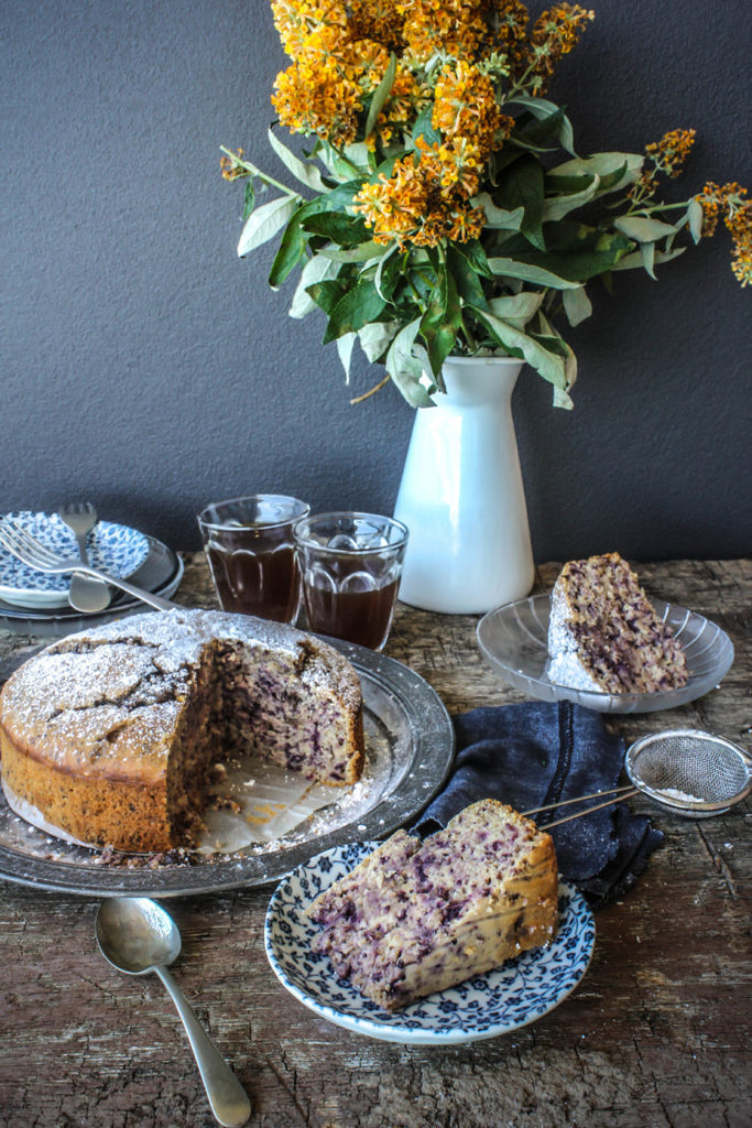Purple Carrot Cake